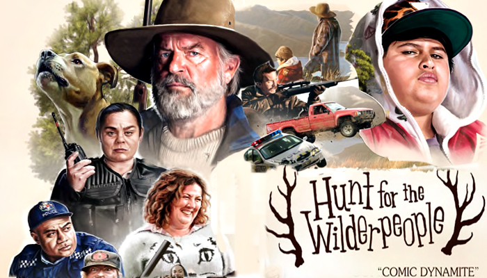 Image result for hunt for the wilderpeople mondo poster