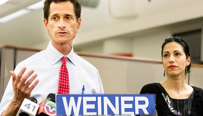 APTOPIX Weiner Mayor